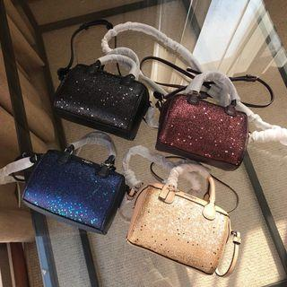 Coach sling bag Glitter Micro F37747