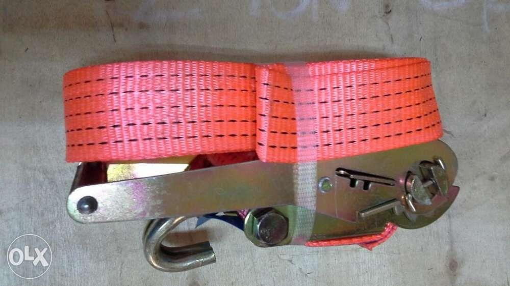 Ratchet tie down bright pink 2 inches 10 meters length