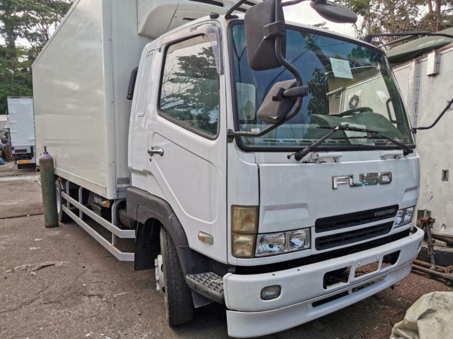 For sale FUSO freighter wing van 6m60 6w