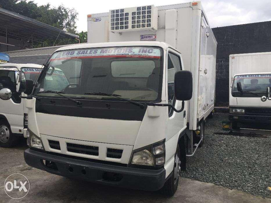 2018 Isuzu ELF NKR NPR 10 14 16 ft Ref Refrigerated Reefer Van Japan