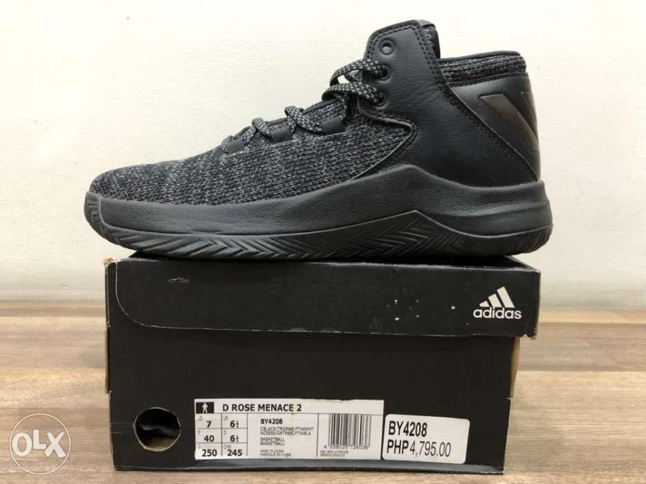 Adidas D Rose Menace 2 Black size 7 Men