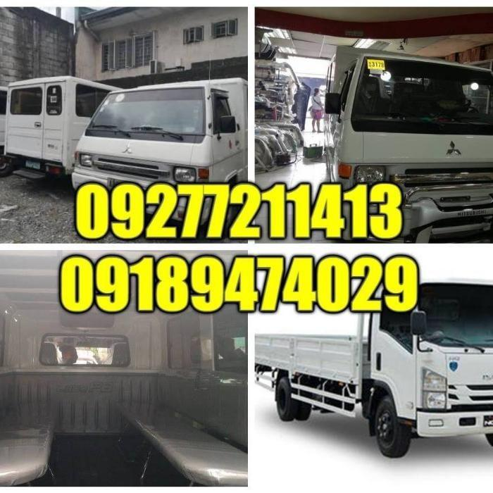 L300 FB Van For Rent.We accept all types of services anypoint of phil.