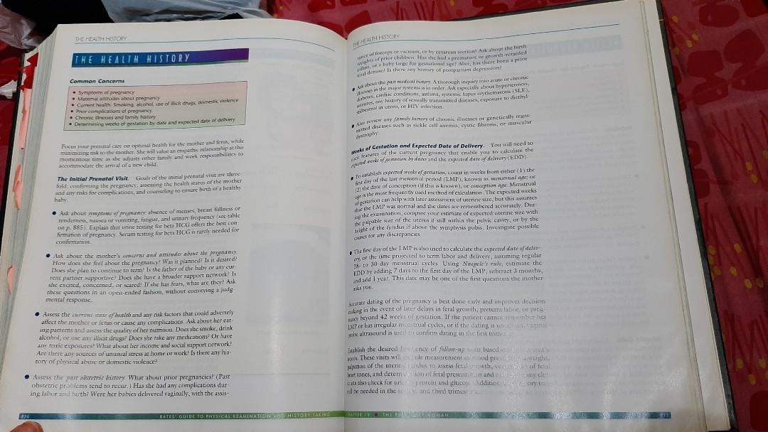 [2nd hand] Bates Guide to Physical Examination and History Taking 10th Edition