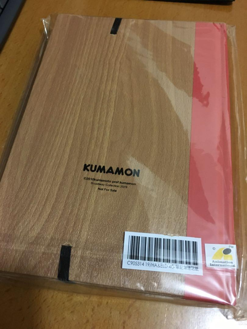 熊本熊 筆記簿 Kumamon notebook