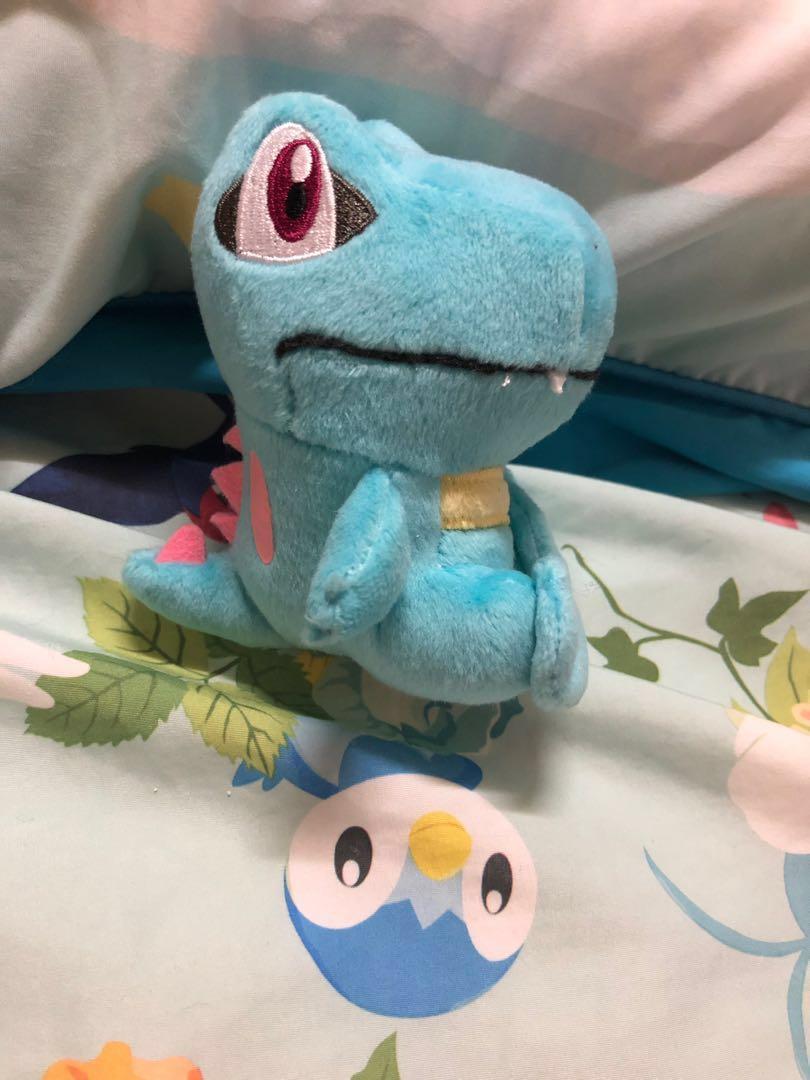 全新 換或售 Pokemon Centre 限定 精靈球公仔 小鋸鱷