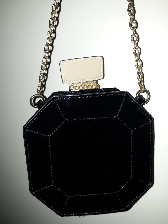 ALDO crossbody bag in the shape of a perfume bottle