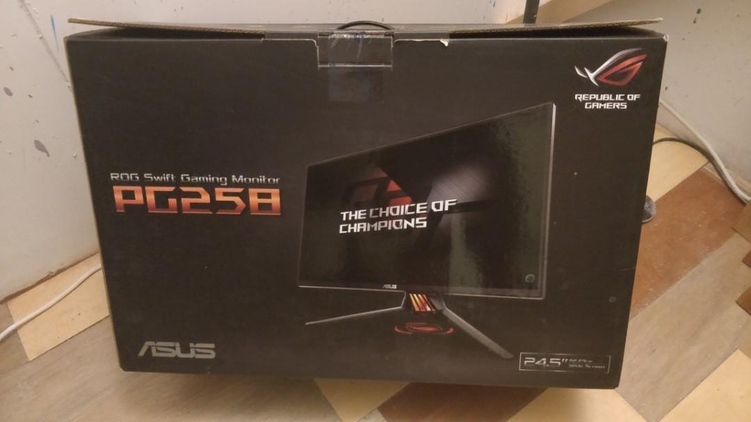 Asus ROG Swift PG258Q 240hz gaming monitor 華碩  電競顯示器
