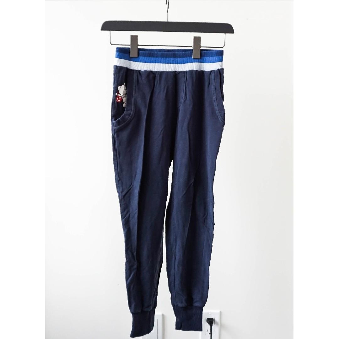 Bossini Teddy Navy blue legging (super duper comfy) (xs/s)