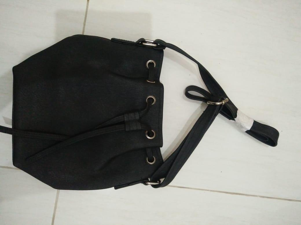 Bucket Black Bag