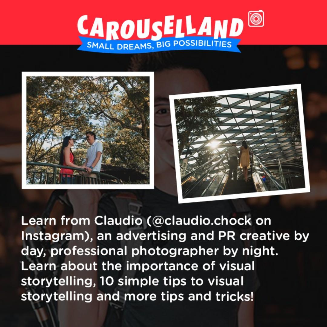 The Art of Storytelling Workshop by Claudio Chock at Carouselland 2019