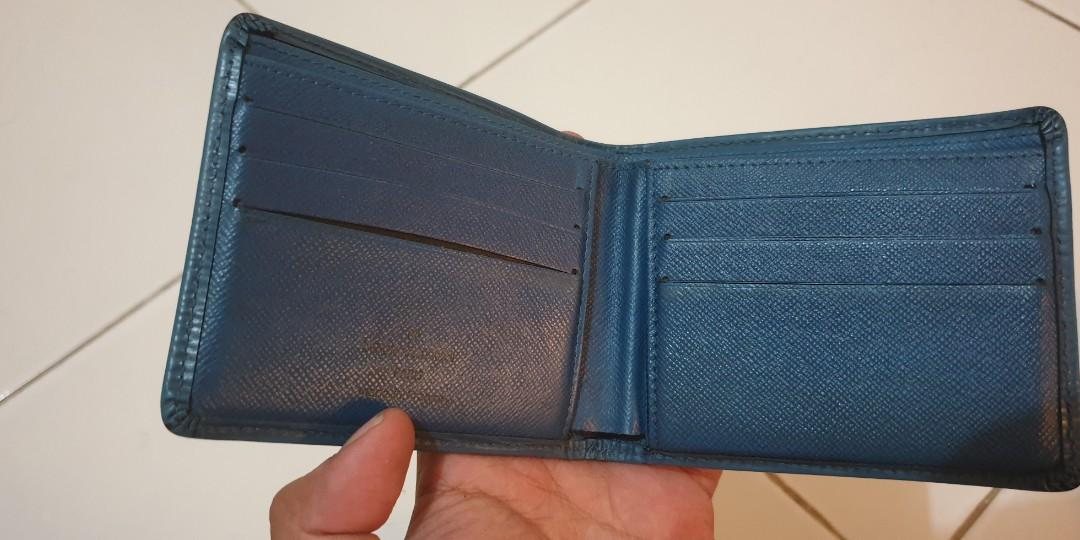 Dompet LV Epi Leather Men's Wallet