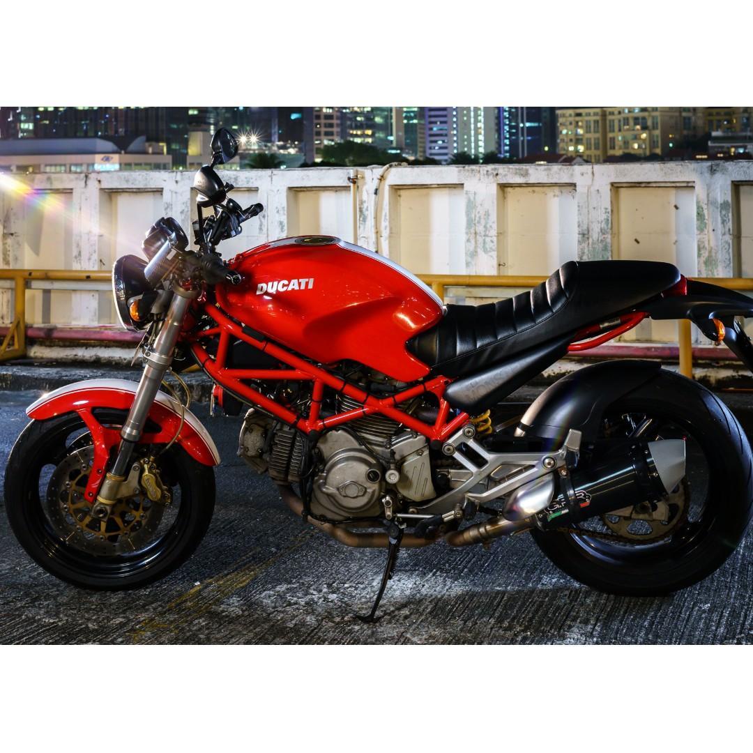 Ducati Monster 400 EFI model