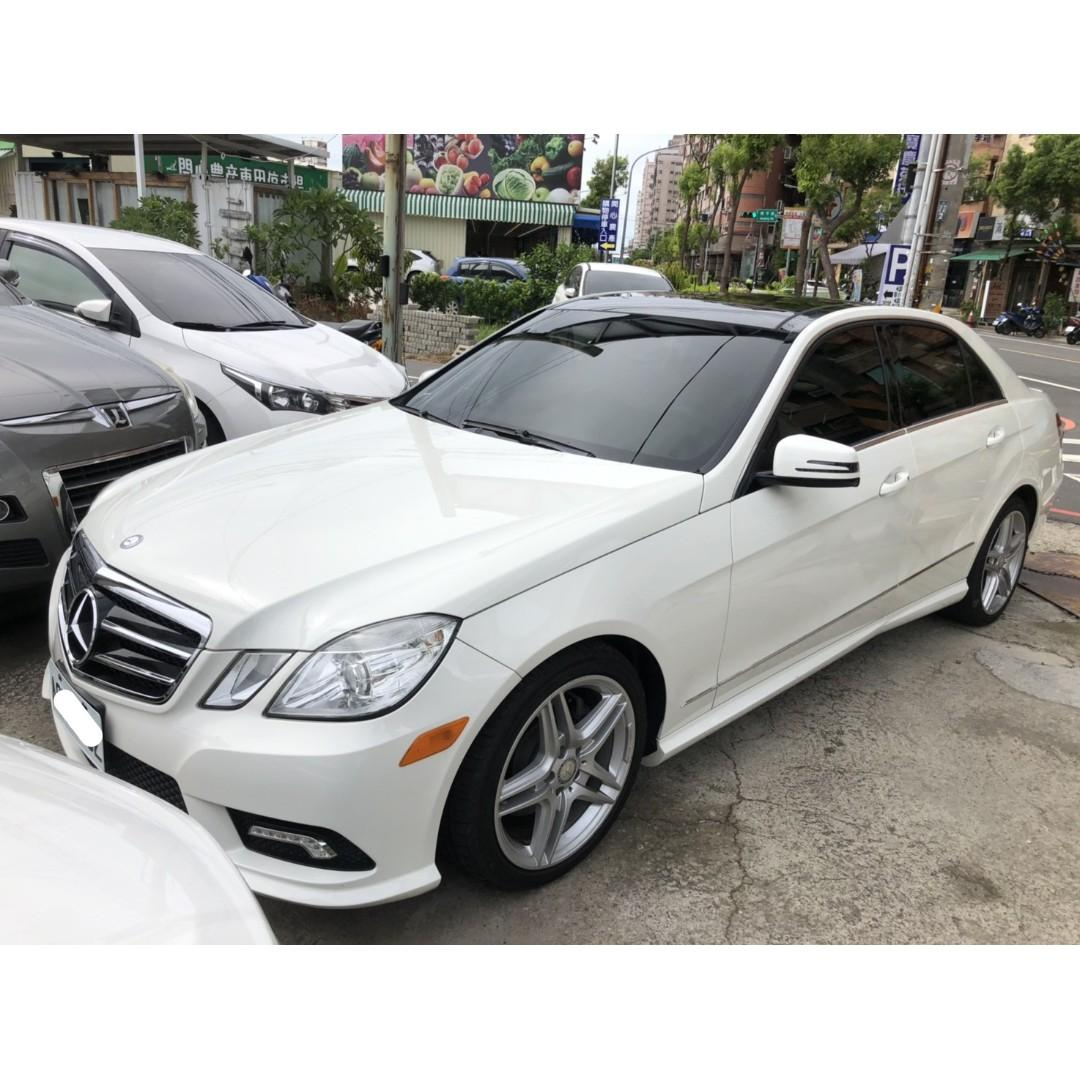 【FB搜尋桃園阿承】賓士 超人氣E350跑12萬 2011年 3.5 白色 二手車 中古車