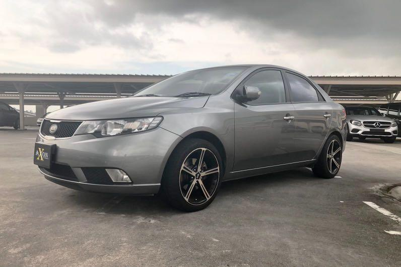Feel free to contact us immediately! Car Rental lease for Grab Gojek Ryde PrivateUsage Short/Long Term Honda Civic 1.8 Red Kia cerato Forte 1.6 Silver