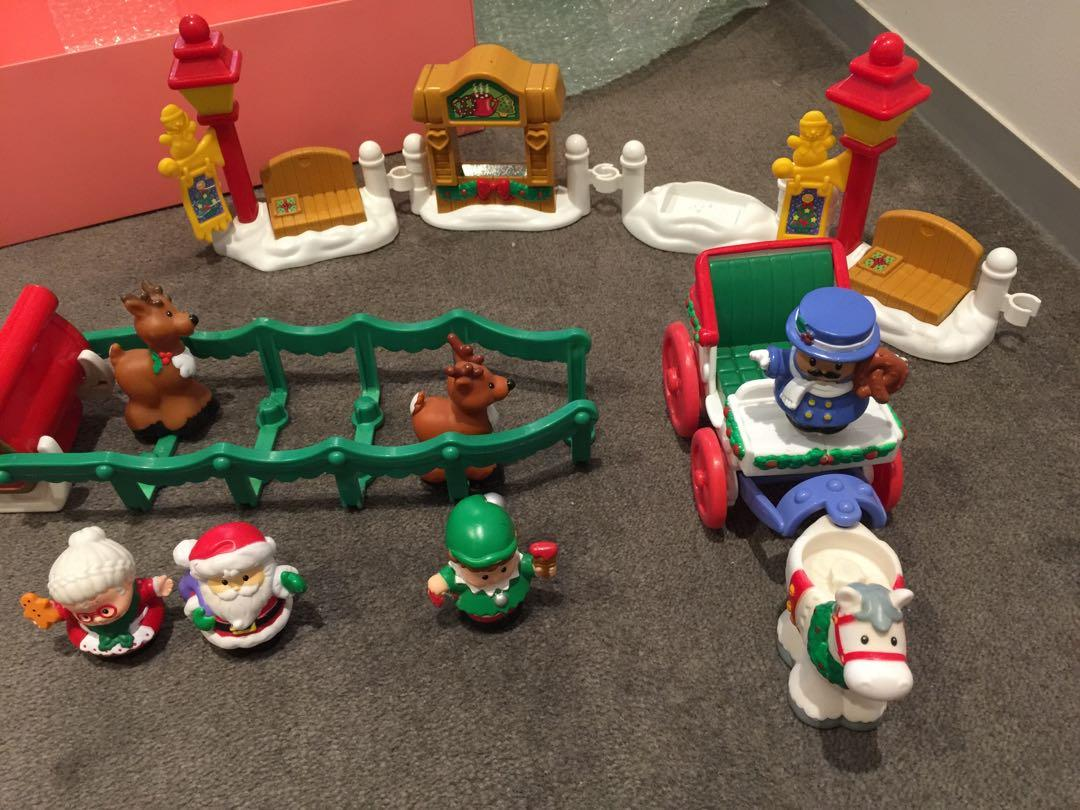 Fisher price little people Christmas story playset toy rare collection sydney