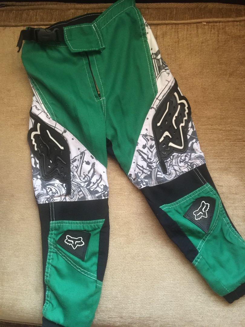 Fox racing bmx pants youth