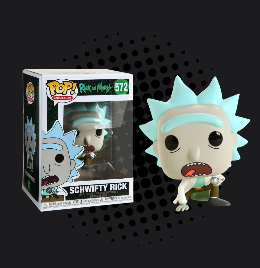 Rick and Morty Get Schwifty Rick #572 Exclusive Funko Pop