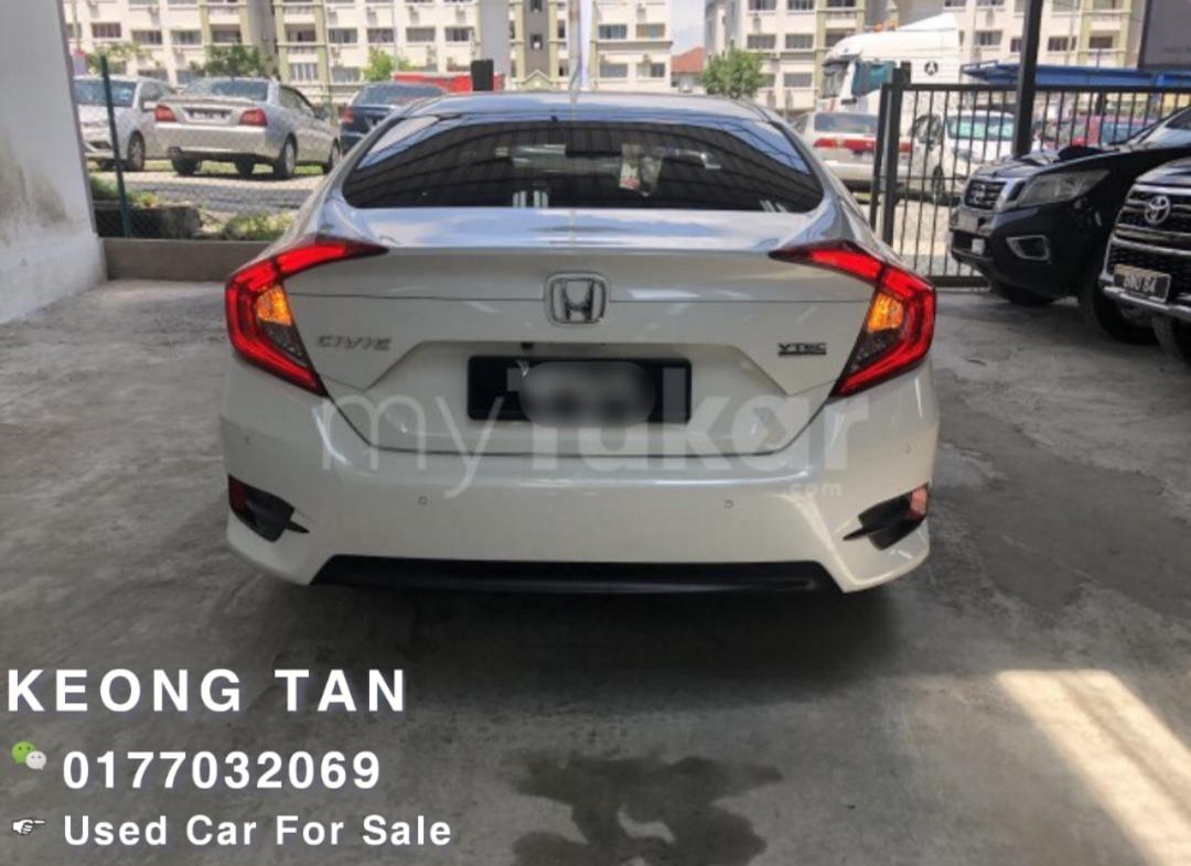 HONDA CIVIC 1.5AT VTEC TURBO ENGINE🚘 FULL SPEC P.Start 2016TH Low MILEAGE 6XXXXKM OfferPrice💲Rm93,800 Only‼LowestPrice InJB🎉Call📲 Keong🤗