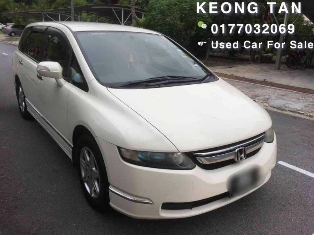 HONDA ODYSSEY 2.4AT ABSOLUTE 2006TH/Reg2011TH 7SEATER MPV Carking🎉Cash💲OfferPrice🎉Rm40,800 Only‼🚘 LowestPrice InJB🎉Call📲 Keong🤗