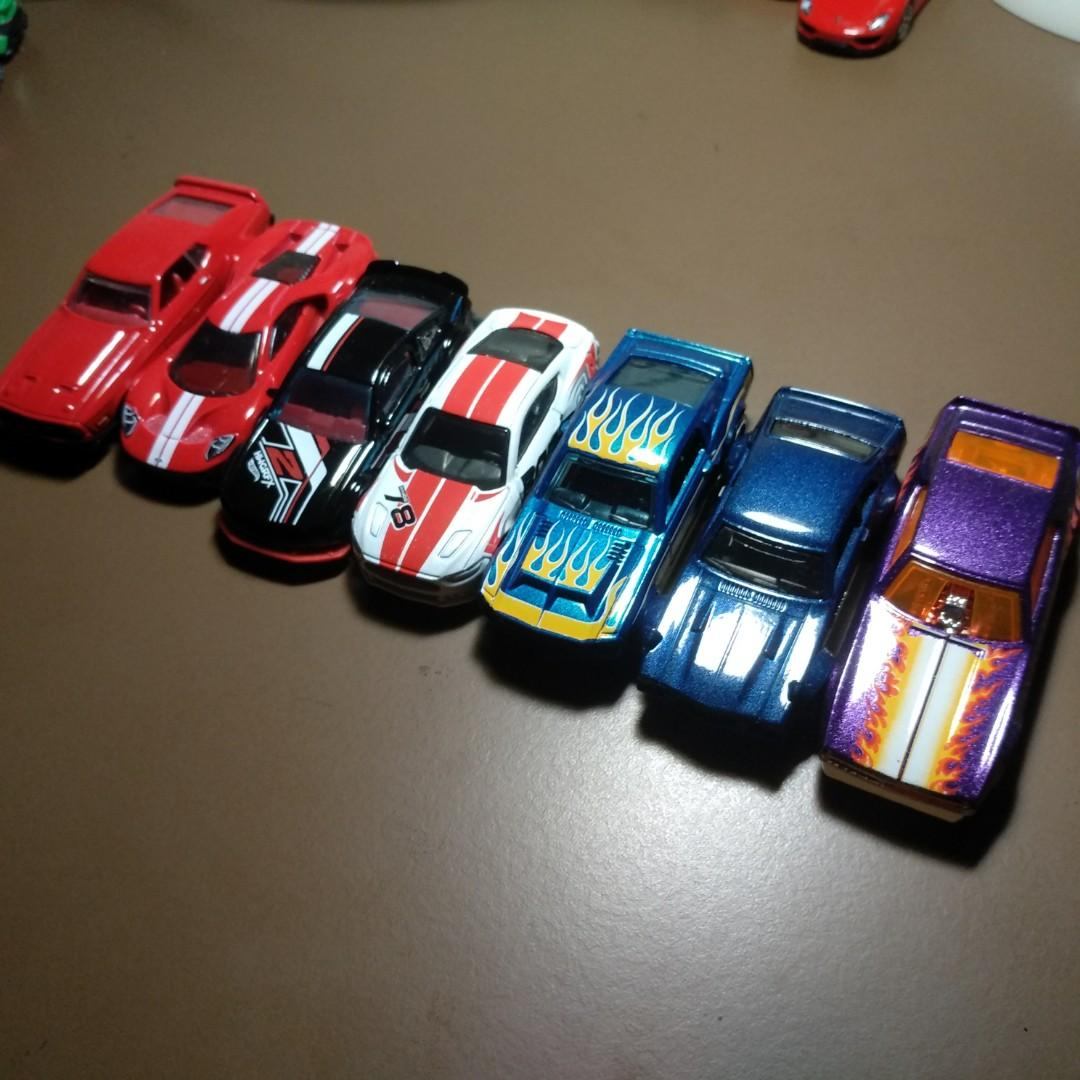 Hot Wheels Ford Cars - Set of 7