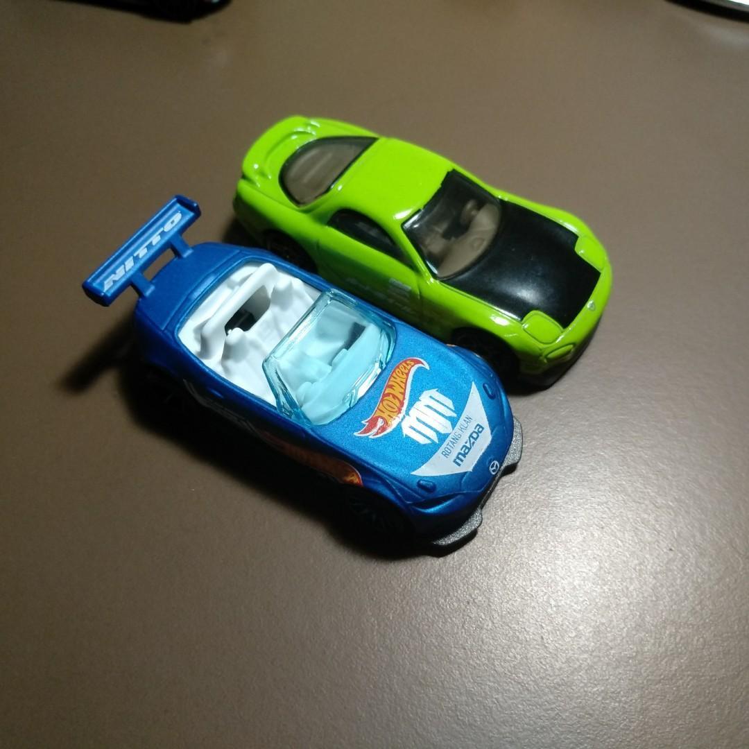Hot Wheels Mazda Pair