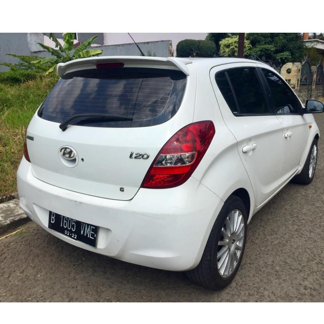 Hyundai i20 M/T 2011 Manual Pajak panjang bulan januari 2020