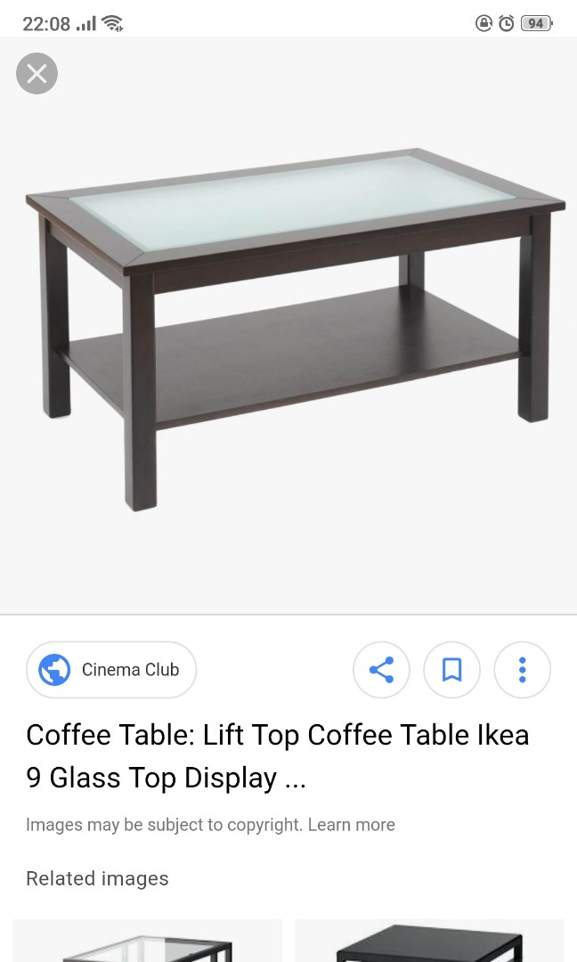 Ikea Coffee Table Furniture Tables Chairs On Carousell
