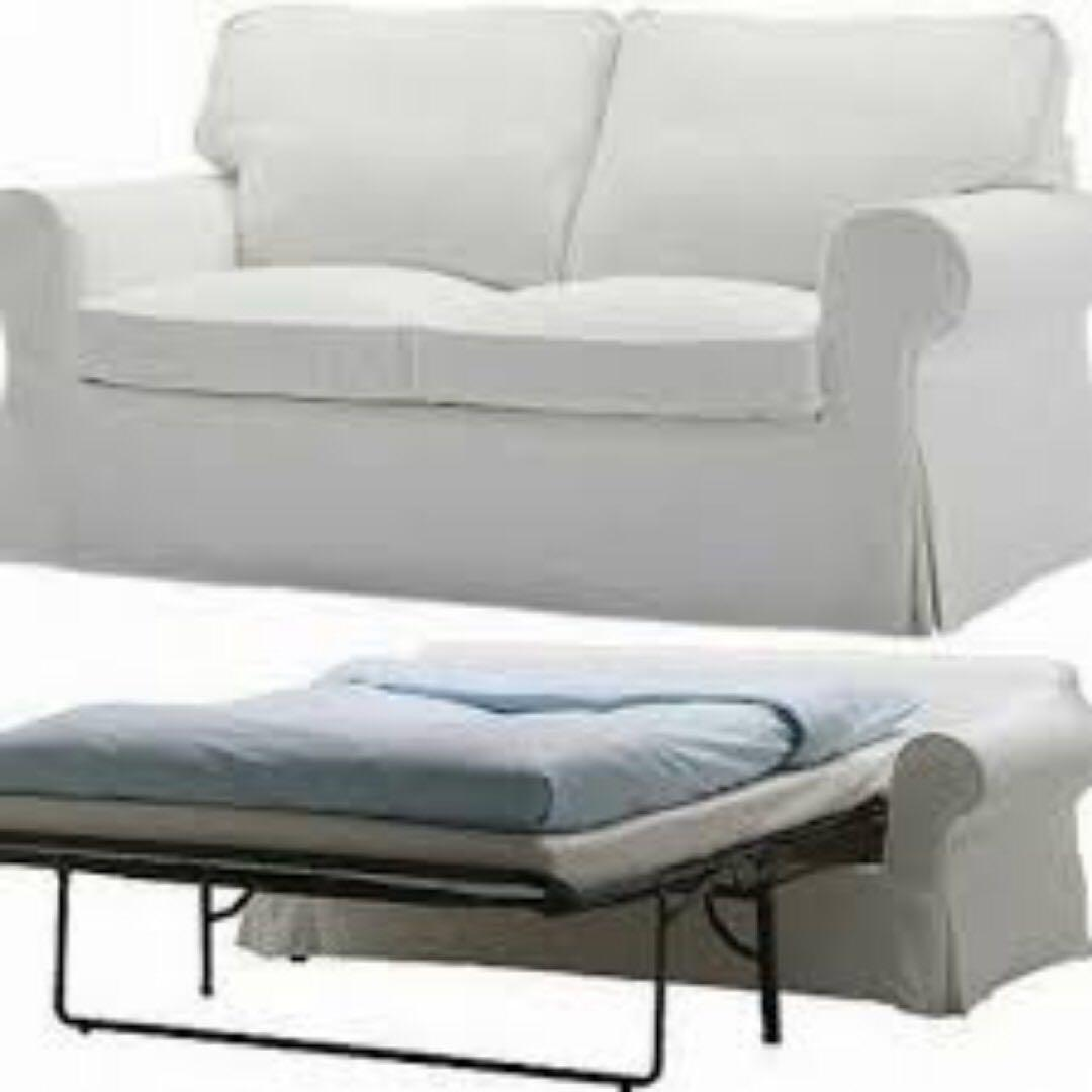 online store f21c3 be34f Ikea Ektorp Sofa Bed - Bargain Fast Deal on Carousell
