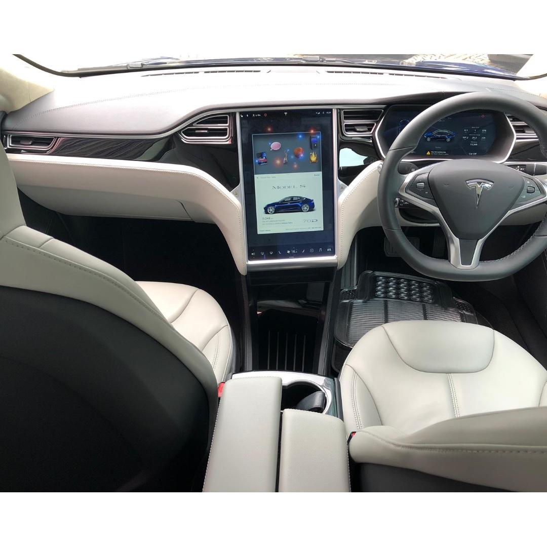 TESLA MODEL S70D 2015