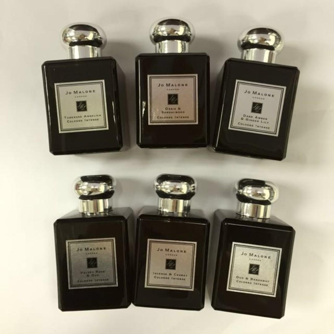 Jo Malone 30ml cologne & 50ml Intense Various Scents