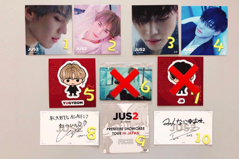 ⭐️ WTS ⭐️ JUS2 Japan Sticker & Messages Card [ Japan Merchandise ]