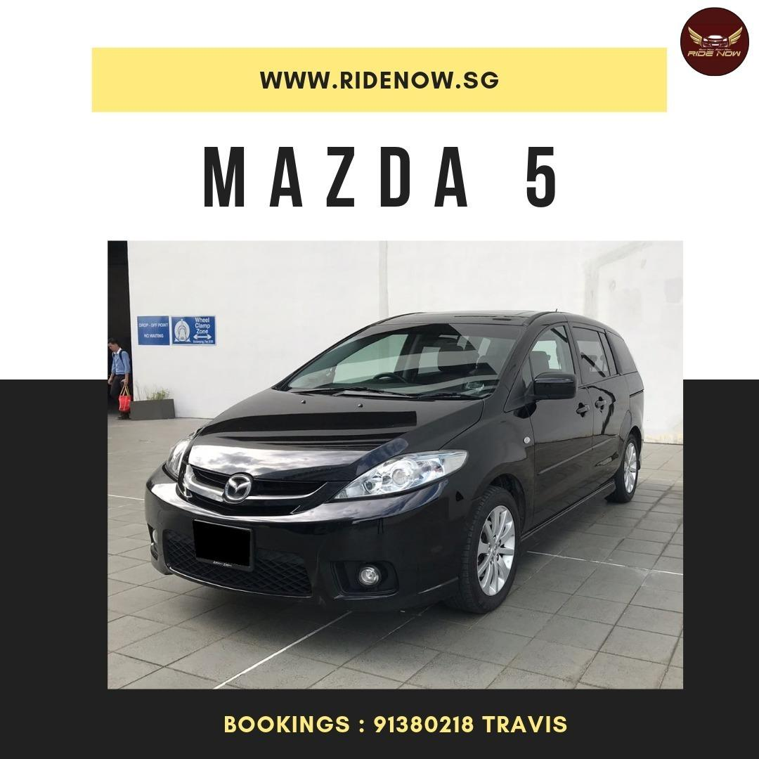 Mazda 5 2.0A Spacious MPV Perfect for Family. P plate Allowed!