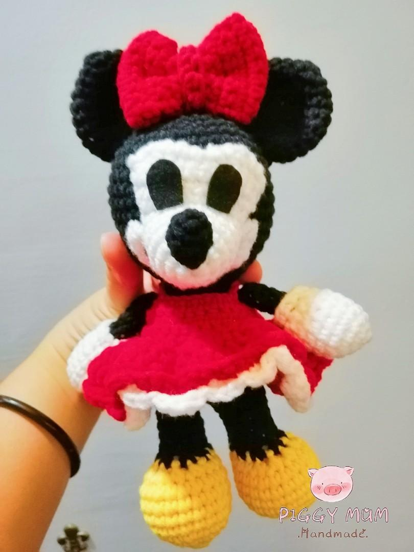 Ravelry: Minnie Mouse Amigurumi pattern by i crochet things | 1080x810
