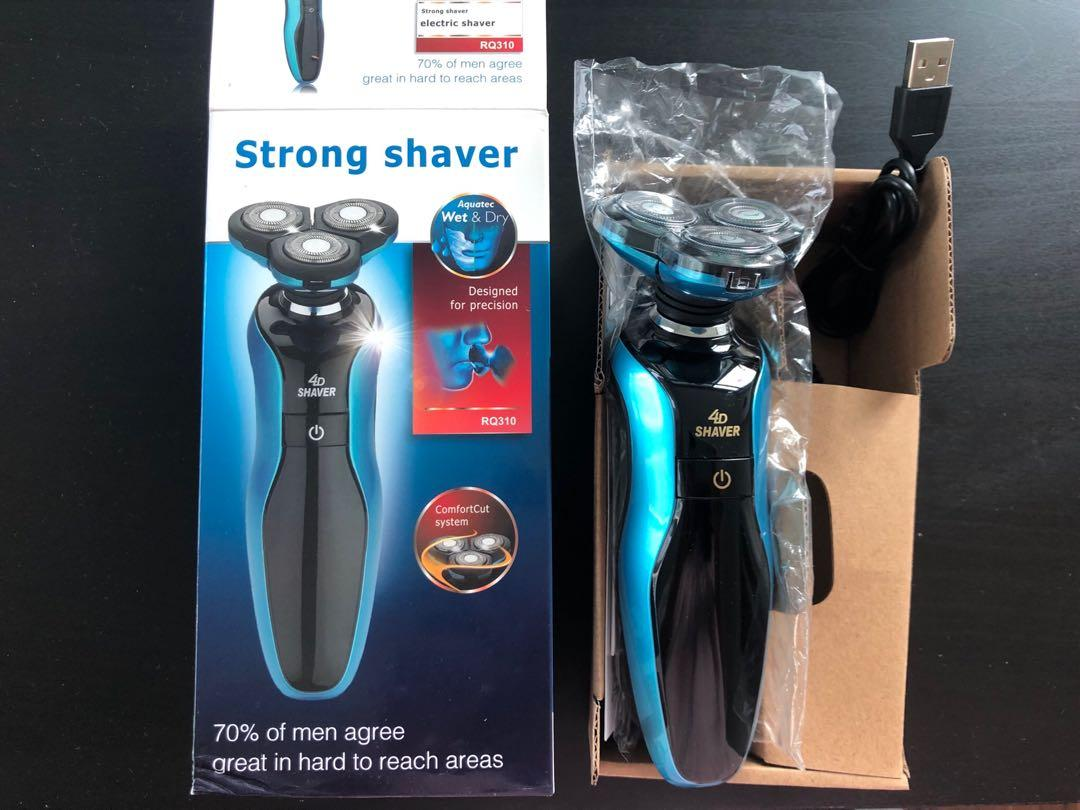New electric shaver waterproof usb charging FXW Lucky brand