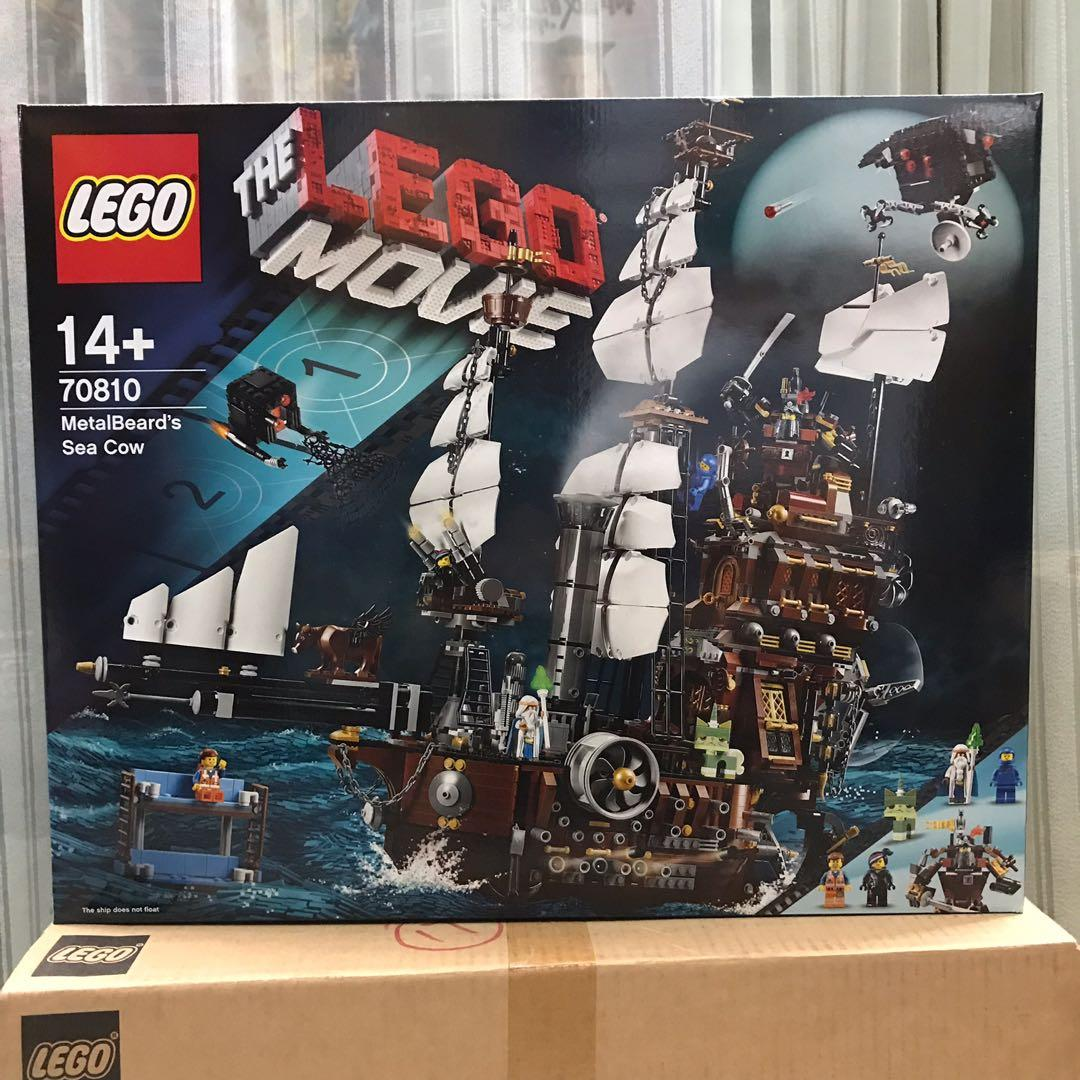 New Lego The Lego Movie 70810 Metalbeard S Sea Cow Toys Games Toys On Carousell
