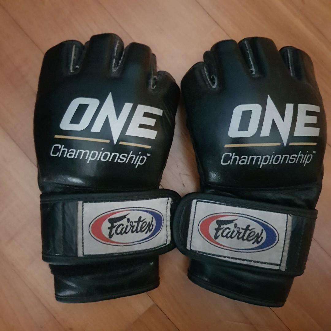 MMA gloves used in ONE Super Series Muay Thai