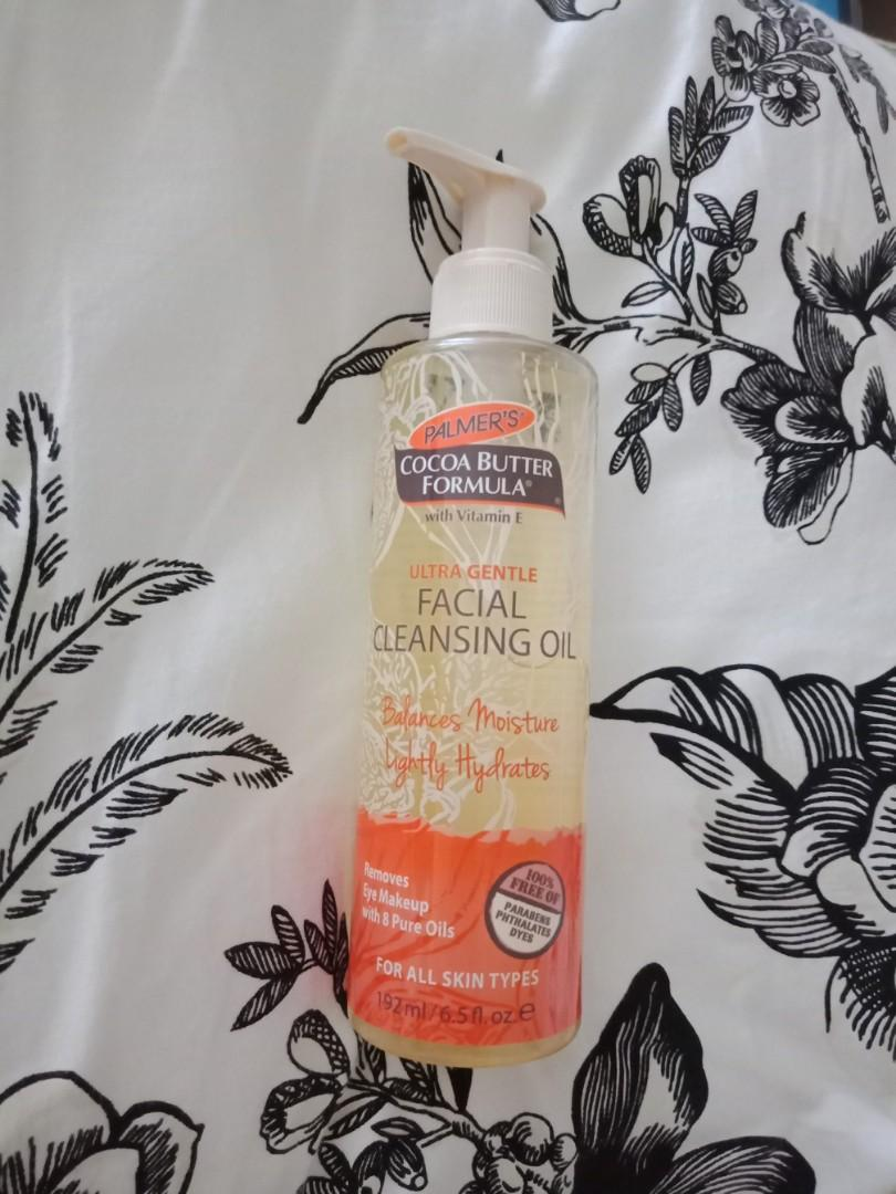 Palmer's ultra gentle facial cleansing oil used once