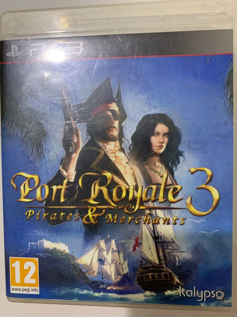 Ps3 Game Port Royale 3 Pirates And Merchants