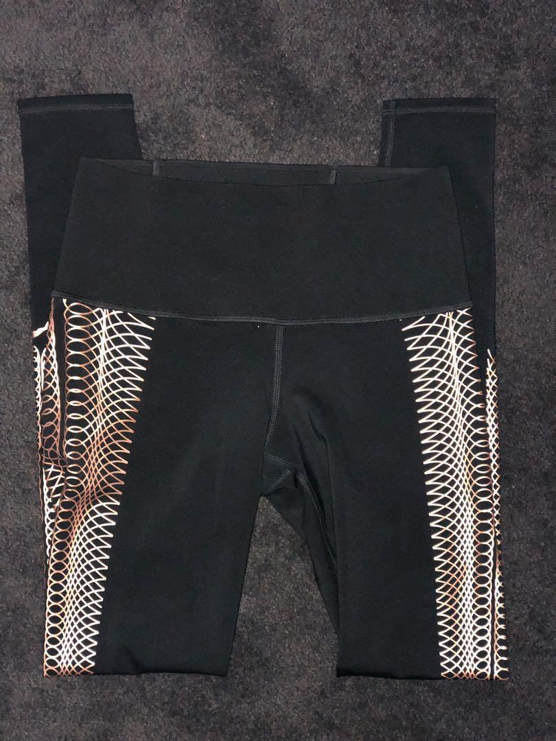 Puma Everyday Train Rose Gold full length leggings BNWOT XS #swapau
