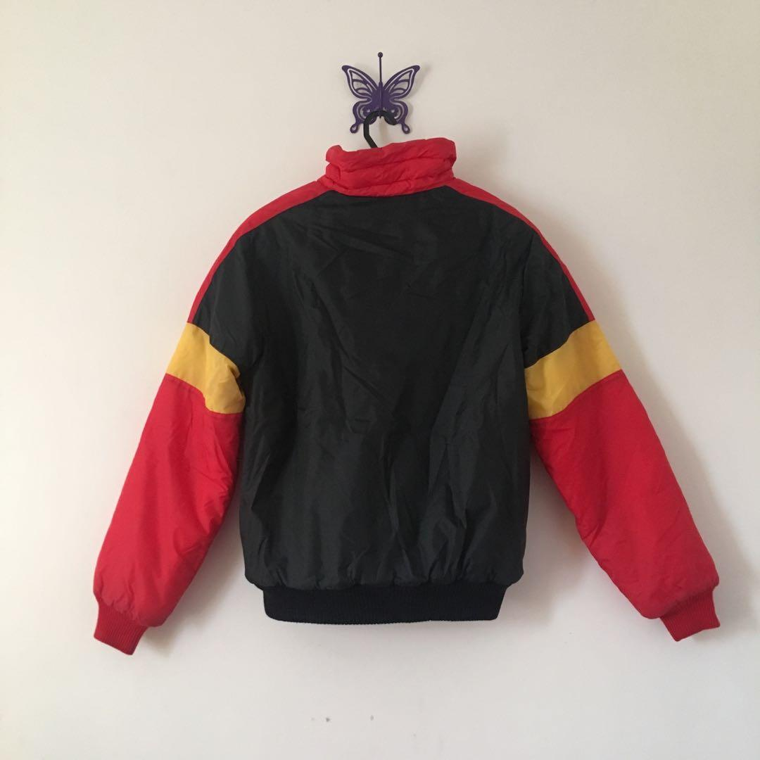 red black yellow jacket