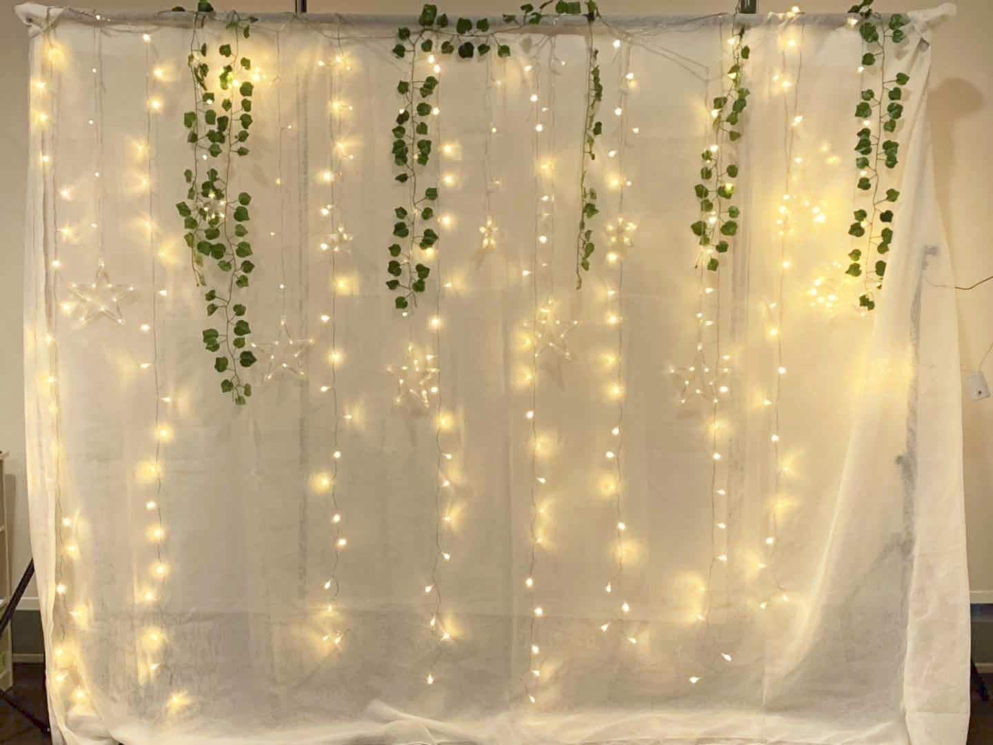 Rent Or Sell High Quality Sheer White Backdrop Curtain Design Craft Others On Carousell
