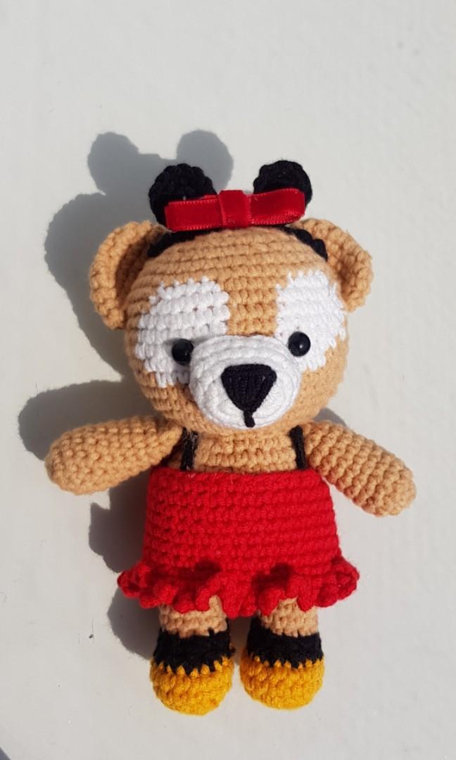 Free Crochet Bear Patterns – Amigurumi Patterns   Crochet teddy ...   1080x648