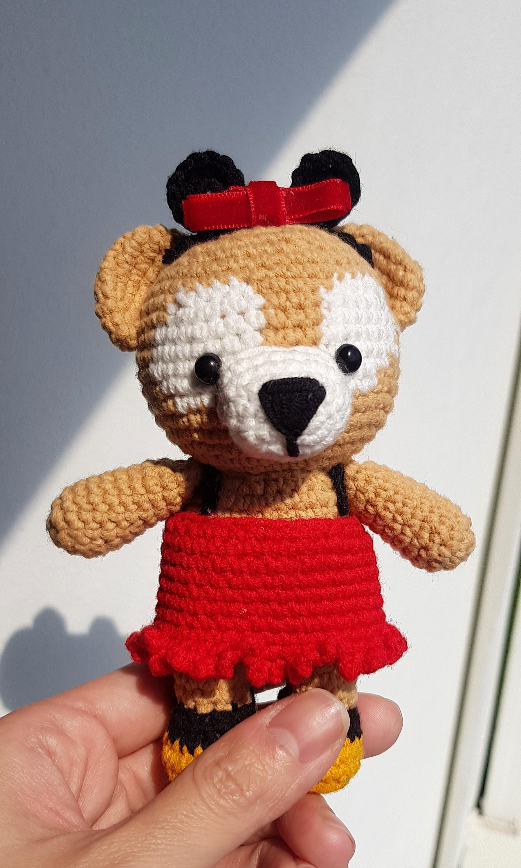 Crochet Teddy Bear Written Pattern and Video   2990x1795