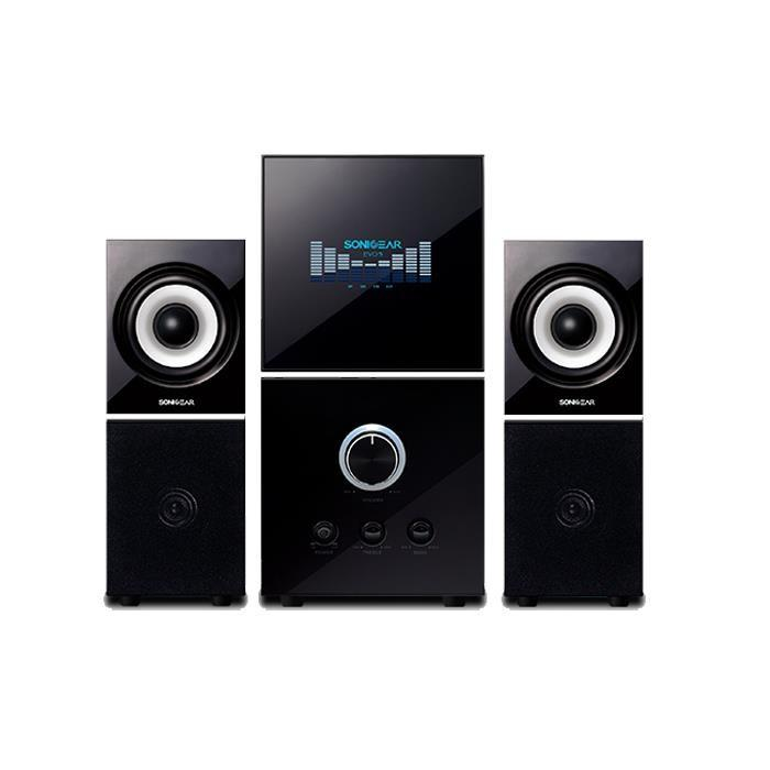 Sonic Gear Evo 7 Pro 2.1 Multimedia Speaker (Black) 2.1 Channel Speaker bass