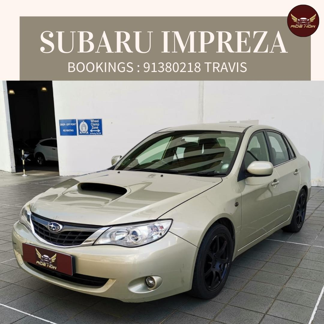 Subaru Impreza 1.5A 4DR Sporty Looking with Loud Exhaust! Youngster's Favorite! P Plate Friendly