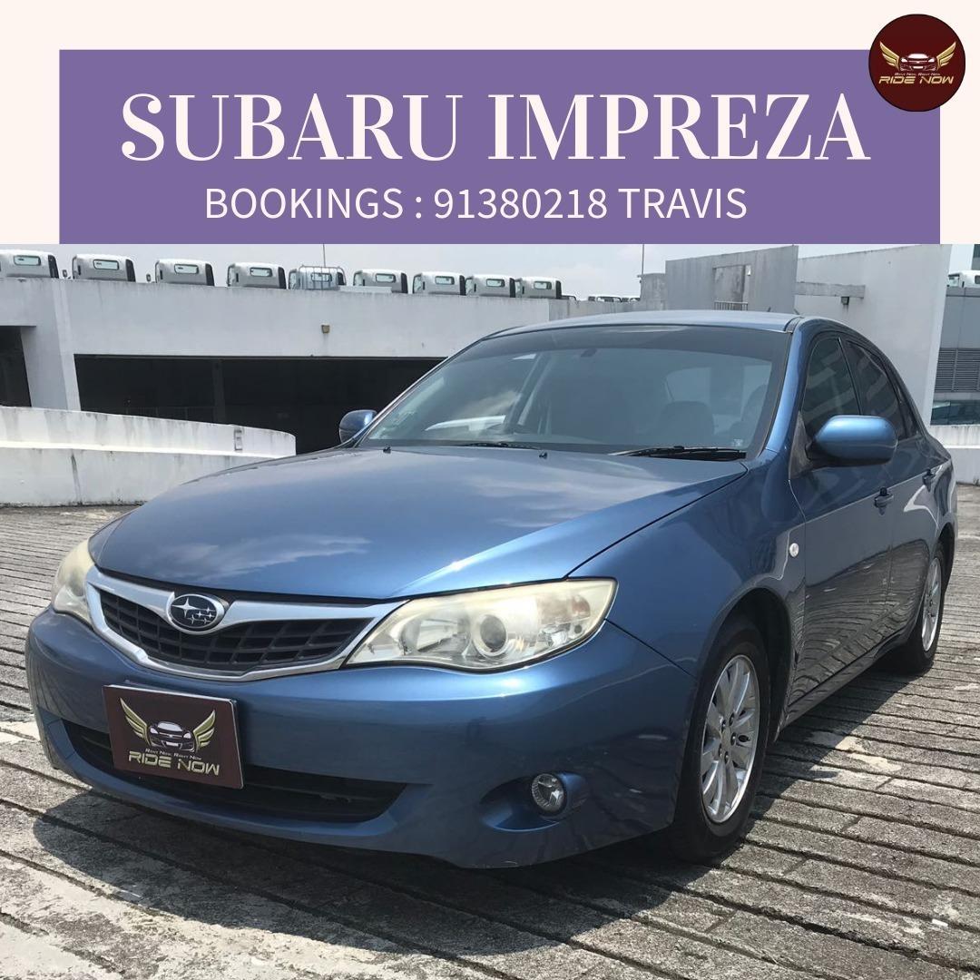 Subaru Impreza 1.5A Comfortable Sedan with Bluetooth Function Radio. P plate Friendly