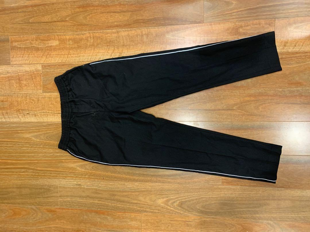 Topman Black Elasticated waist with White Pipping