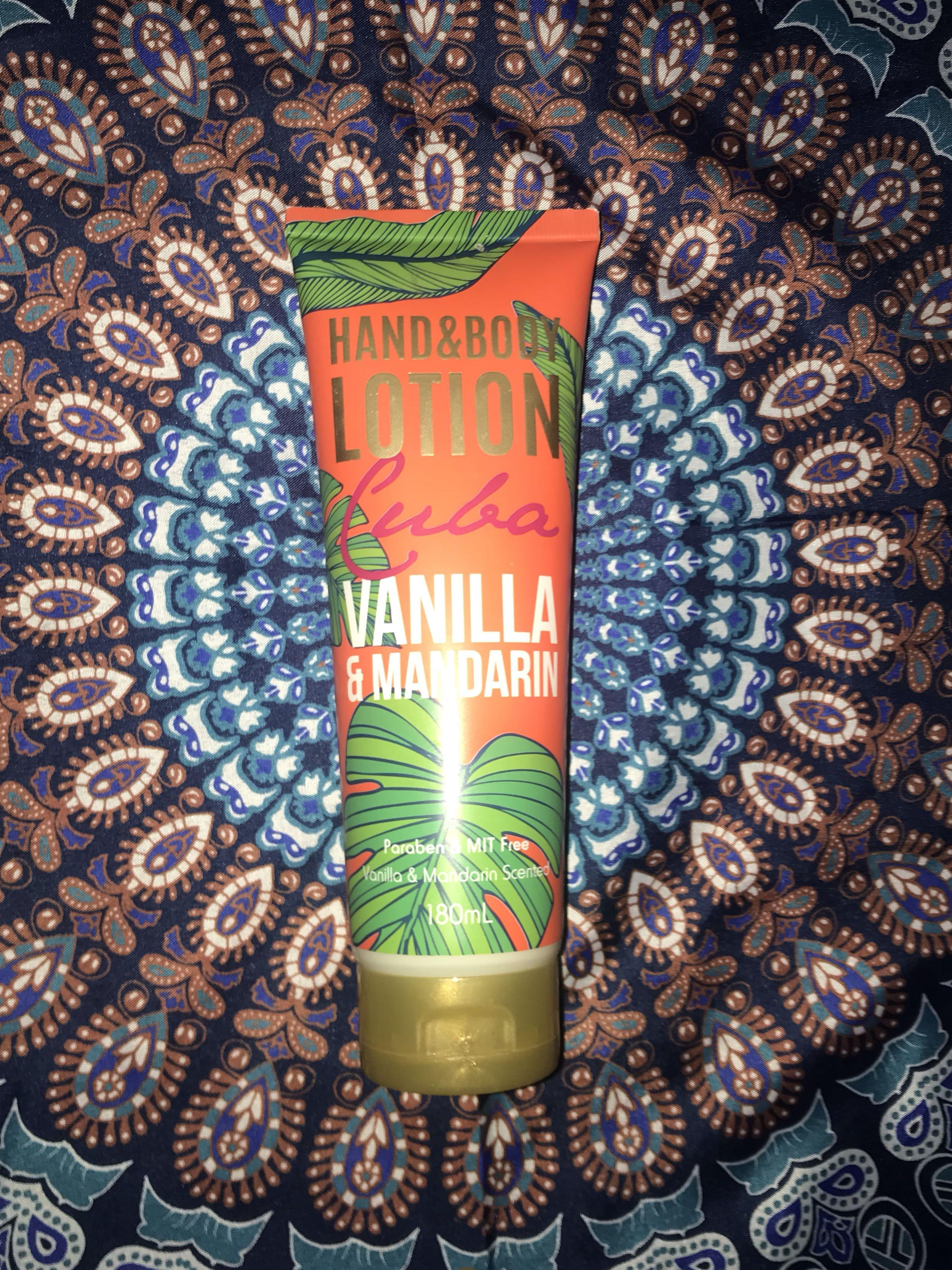 tropical vanilla & mandarin body lotion 180ml #SwapAU
