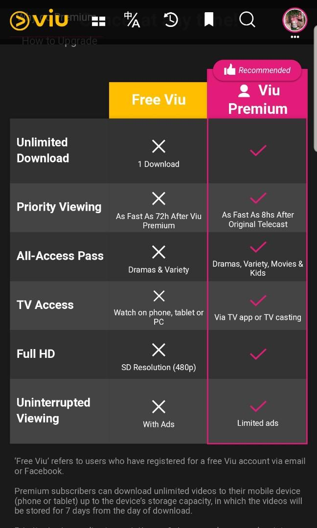 Viu Premium Subscription For 1 Year Toys Games Video Gaming Others On Carousell