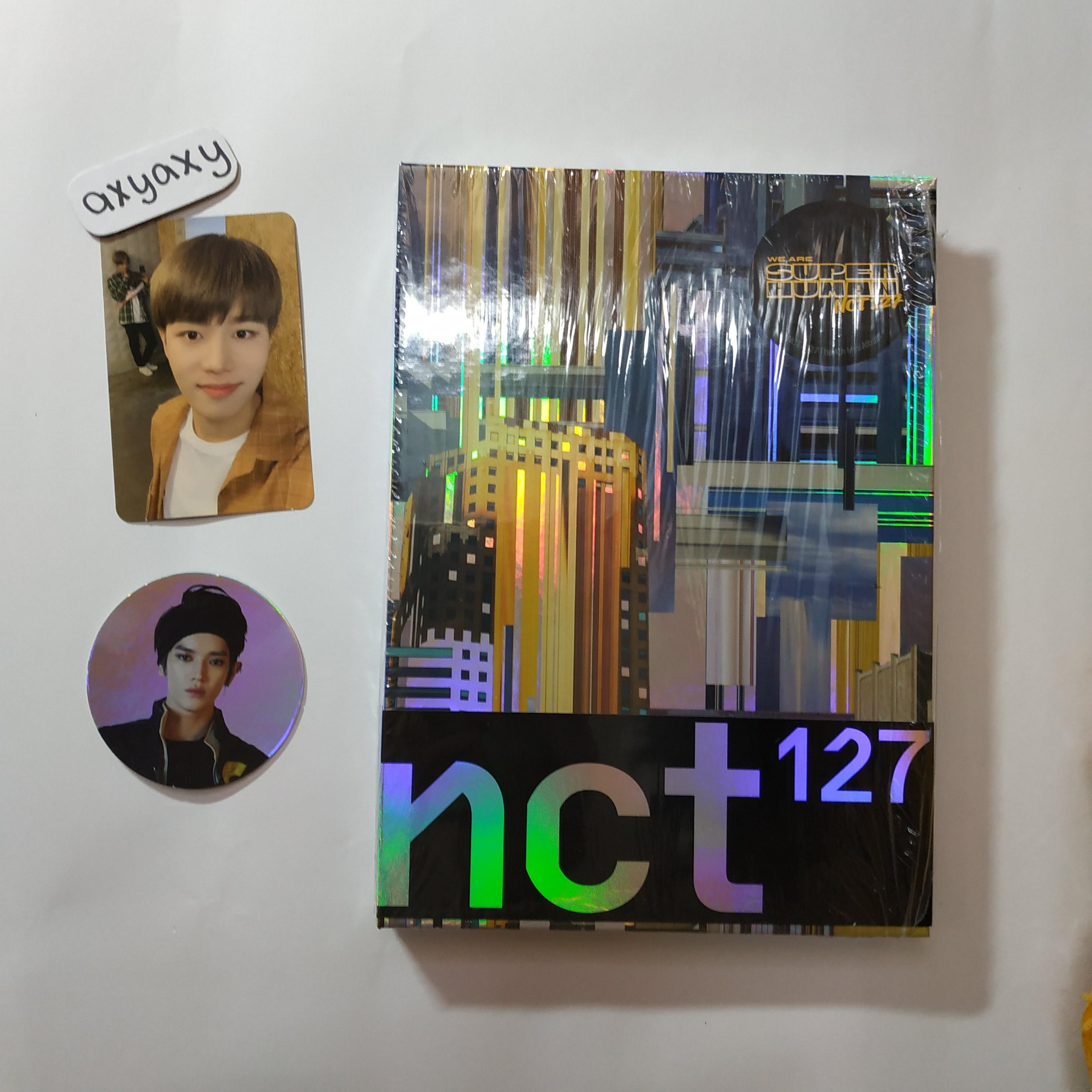 [WTS] NCT 127 SUPERHUMAN Normal Album with Taeil pc and Taeyong cc